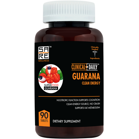 CLINICAL DAILY Guarana Clean Energy - SaRe Wellness - Where Healthy Families Thrive
