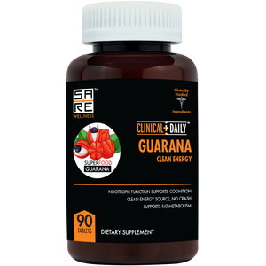 CLINICAL DAILY Guarana Clean Energy from SaRe Wellness - Where Healthy Families Thrive