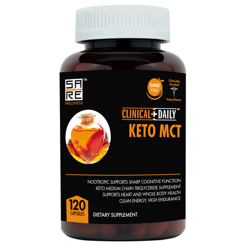 CLINICAL DAILY Keto MCTs - SaRe Wellness - Where Healthy Families Thrive