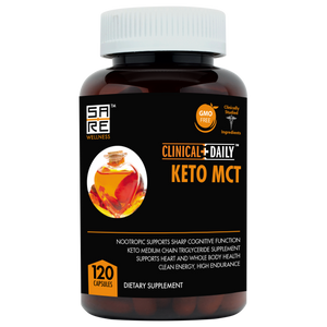 CLINICAL DAILY Keto MCTs from SaRe Wellness - Where Healthy Families Thrive