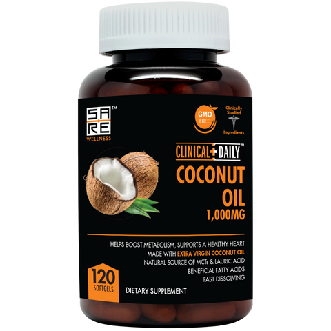 Organic Coconut Oil Supplement - SaRe Wellness - Where Healthy Families Thrive