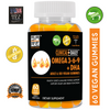 CLINICAL DAILY Vegan Omega 3-6-9 With DHA Gummy or Omega + EPA + DHA Liquid Fish Oil Softgel from SaRe Wellness - Where Healthy Families Thrive