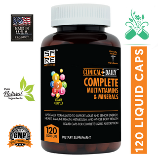 COMPLETE Adult Liquid Multivitamins & Minerals - SaRe Wellness - Helping healthy families thrive