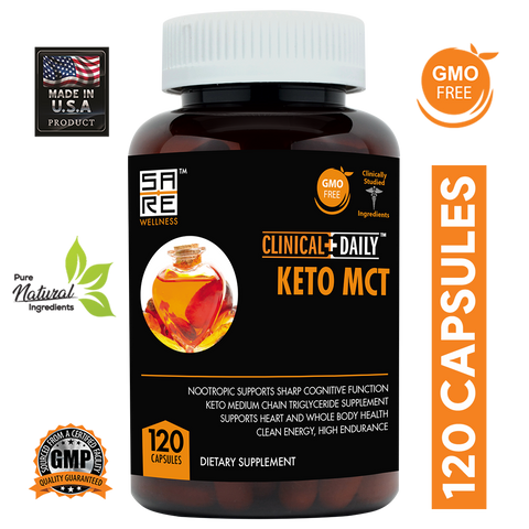 Image of CLINICAL DAILY Keto MCTs from SaRe Wellness - Where Healthy Families Thrive