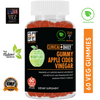 "Image of CLINICAL DAILY Apple Cider Vinegar Gummies with ""The Mother"", Beet Root, Pomegranate Juice, Vitamin B12 - SaRe Wellness - Helping healthy families thrive"