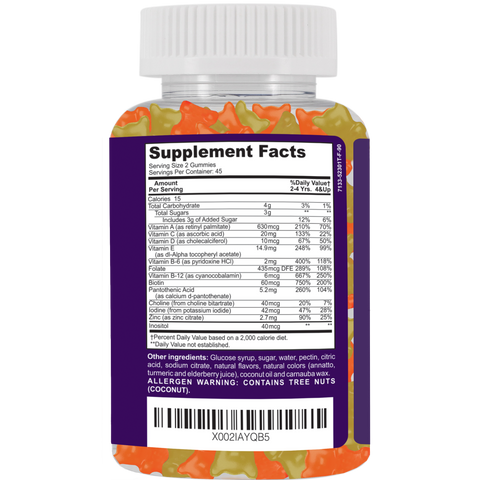 COMPLETE Kid's Gummy Multivitamins and Minerals - SaRe Wellness - Where Healthy Families Thrive