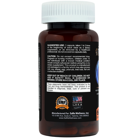 Digestive Enzyme Herbal Supplements - SaRe Wellness - Where Healthy Families Thrive