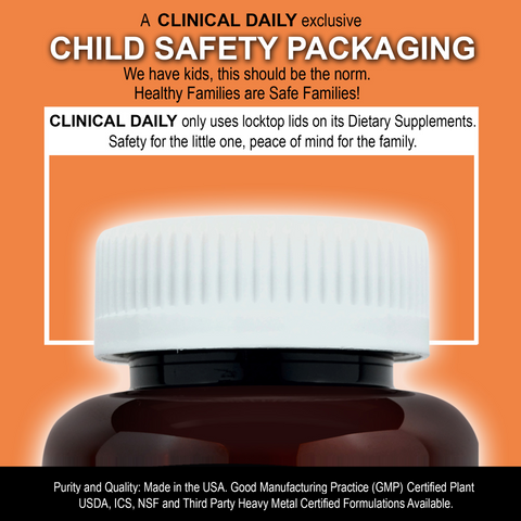 CLINICAL DAILY Vitamin D-3 With K-2 from SaRe Wellness - Where Healthy Families Thrive