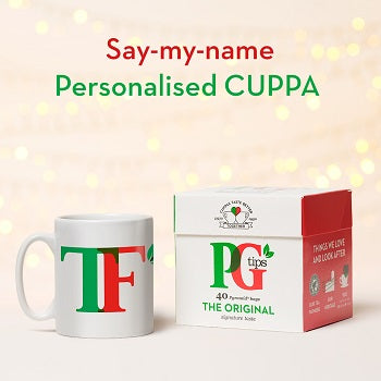 PG Tips Personalised Mug & Tea Set