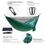 Outdoor Camping Nylon Hammock with Mosquito Net