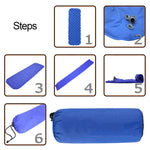 Inflatable Ultralight Camping Sleeping Pad
