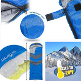 Two Way Zipper Sleeping Bag