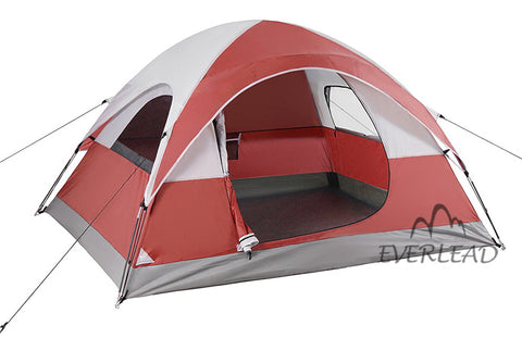 4 Person Lightweight Dome Tent Outdoor Backpacking Camping Tent