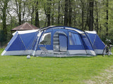 12 Person 3 Room Luxury Outdoor Large House Family Camping Tent