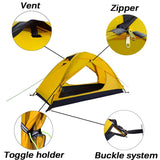 The Fall Series 1 Man Outdoor Camping Tent