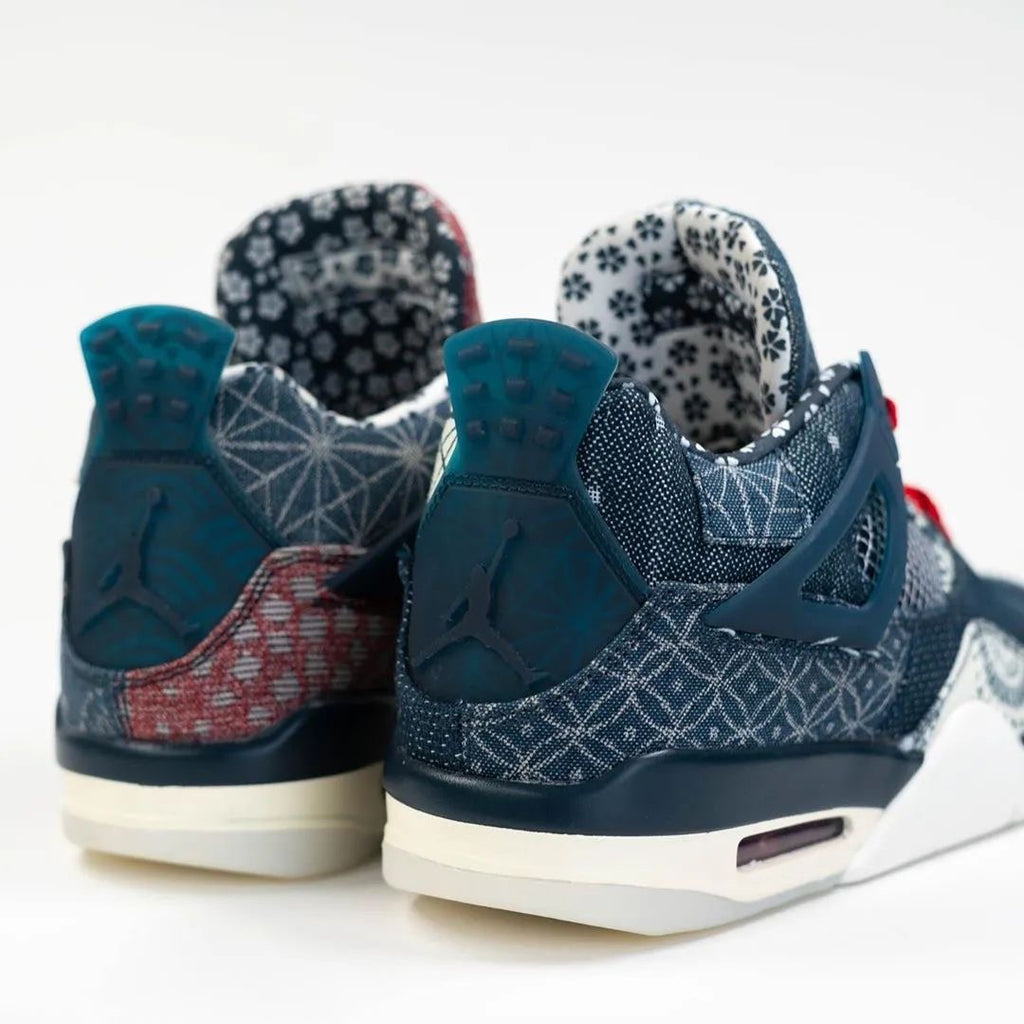 【#AJ4 One of the most detailed color schemes! Would you buy this pair of thorn embroidery? 】