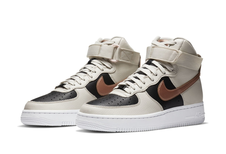 Full leather shoe body! The new color Nike Air Force 1 High official icon released !