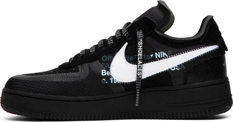 black air force 1 off whitw