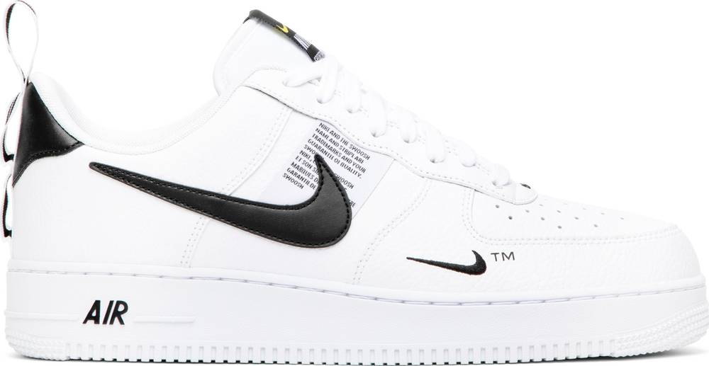 nike air force 1 overbranded white