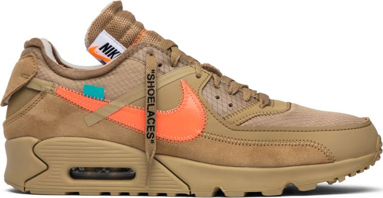 "OFF-WHITE x Air Max 90 ""Desert Ore"" - Sneakers Online Store 