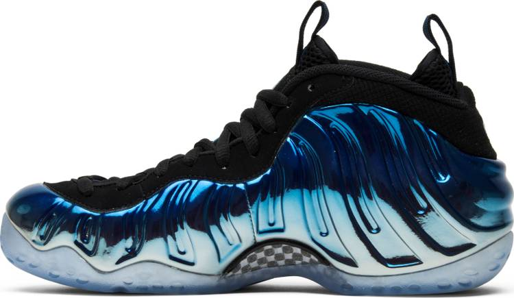 "Air Foamposite One PRM ""Blue Mirror"" - Sneakers Online Store 