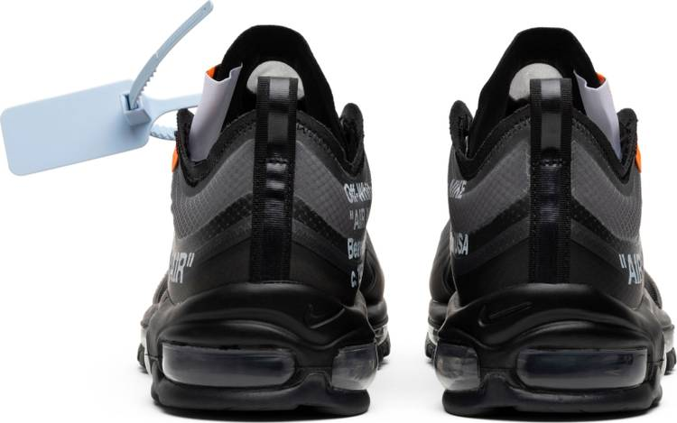 "OFF-WHITE x Air Max 97 ""Black"" - Sneakers Online Store 