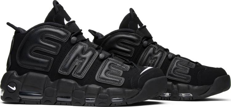 Supreme x Air More Uptempo 'Black' - Sneakers Online Store | Sneakereyes