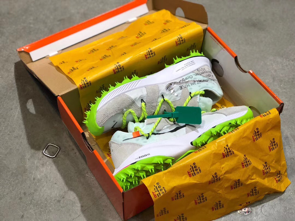 "OFF-WHITE x Air Zoom Terra Kiger 5 ""White"" - Sneakers Online Store 