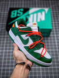 "OFF-WHITE x Dunk Low ""Pine Green"" - Sneakers Online Store 