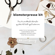 BLOMSTERPRESSE KIT