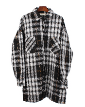 Load image into Gallery viewer, OVERSIZED WINTER FLANNEL
