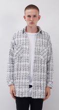 Load image into Gallery viewer, WOVEN PLAID SHIRT JACKET