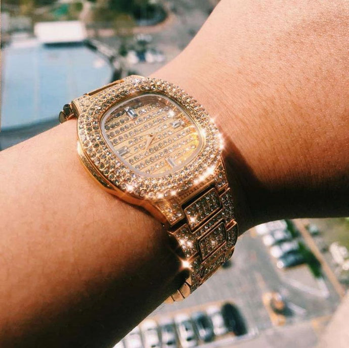 Gold Diamond Watch (Low stock) 🔥🔥
