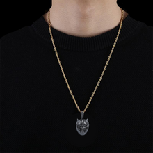 Load image into Gallery viewer, BLACK PANTHER NECKLACE