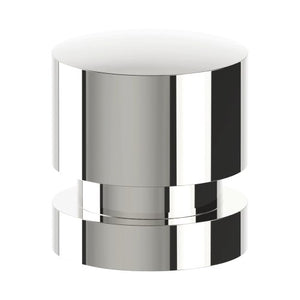 K004 Cabinet Knob, Solid Stainless Steel, 35mm Ø, Projection 38mm in Polished Stainless Steel