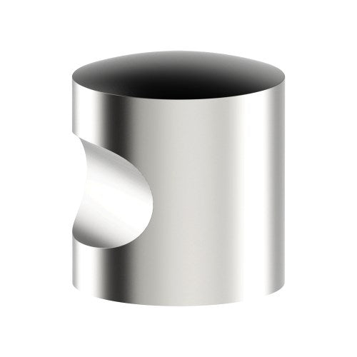 K009 Cabinet Knob, Solid Stainless Steel