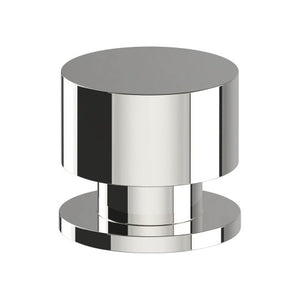 K013 Cabinet Knob, Solid Stainless Steel, 35mm Ø, Projection 32mm in Polished Stainless Steel