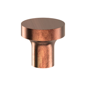 K014 Cabinet Knob, Solid Stainless Steel, 30mm Ø, Projection 30mm in Antique Bronze