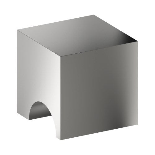 K100 Cabinet Knob, Solid Stainless Steel