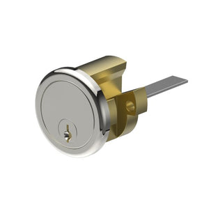 Lockwood Round 201, SERIES 2, Power Industry Cylinder inc. MT5 KEY AA2736 in Polished Chrome