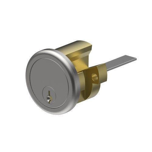 Round 201 Cylinder to suit Rim Lock inc. 2 Keys and Keying or Master Keying.