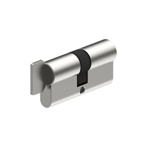 Euro Cylinder & Turn 90mm - 35/35mm Split. (5 pin - cannot have restricted keys) inc. 2 Keys and Keying or Master Keying.