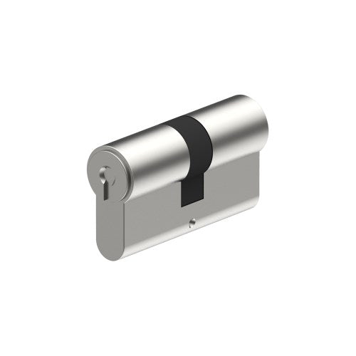 Euro Double Cylinder 90mm - 35/35mm Split. (5 pin - cannot have restricted keys) inc. 2 Keys and Keying or Master Keying.