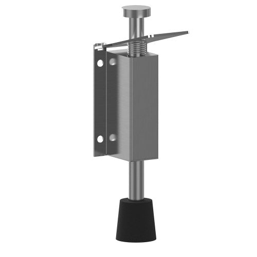 Door Holder, Heavy Duty, Push Down, Push Release, Stainless Steel