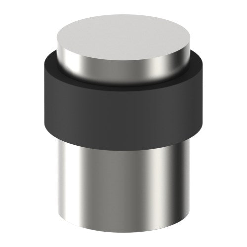 004 Door Stop, Floor Mounted, Solid Stainless Steel Ø35mm 40mm high