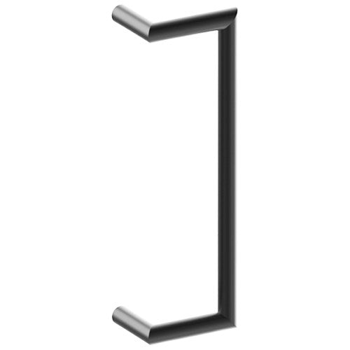CETINA OFFSET Entrance Pull Handles, Stainless Steel, 25mm Ø