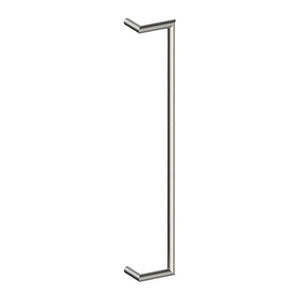 CETINA OFFSET Entrance Pull Handles, Stainless Steel, 25mm Ø x 800mm CTC (Back to Back Pair) - Style Finish Design Pty Ltd