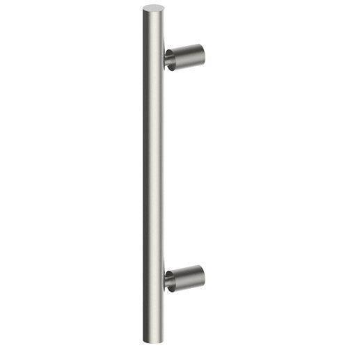 DUO Entrance Pull Handles, Stainless Steel, 32mm Ø x 400mm CTC (Back to Back Pair)