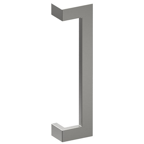 LINEA OFFSET Entrance Pull Handles, Stainless Steel, 38mm x 25mm x 400mm CTC (Back to Back Pair)