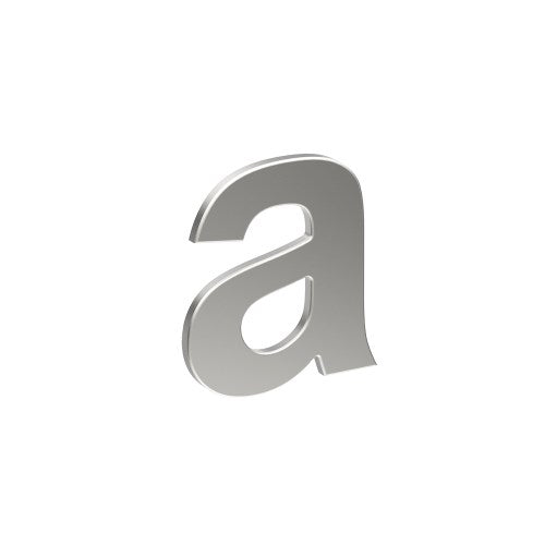 Stainless Steel Letter 'A' 80mm x 60mm